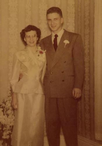 1951 Wedding Jane Smith Allen H. Kuntz