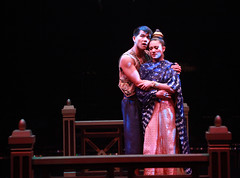 Telly Leung and Diane Phelan as Lun Tha and Tuptim in The King and I produced by Music Circus at the Wells Fargo Pavilion August 6-11, 2013. Photo by Charr Crail.
