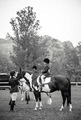 lead line (Jen MacNeill) Tags: show horses blackandwhite bw horse girl children kid child pennsylvania riding rider horseback equine leadline jennifermacneilltraylor jmacneilltraylor jennifermacneill jennifermacneillphotography