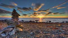 Varberg - Sunset (Filip Nystedt) Tags: sunset sky water clouds europa sweden skandinavien himmel sverige scandinavia westcoast varberg solnedgång moln halland klab västkusten canonef14mmf28liiusm canon5dmarkiii hallandcounty