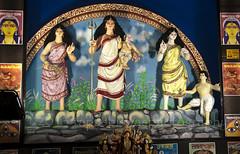 Durga Puja 2013 - Ujjwal Sangha, Bandel, West Bengal (Tapas Biswas) Tags: art festival artistic culture bengal cultural durga durgapuja westbengal indianculture durgafestival bengalfestival durgapuja2013