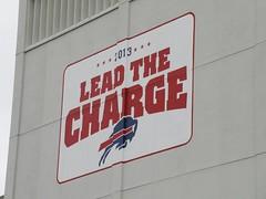 Lead The Charge (MattBritt00) Tags: ny newyork sports football buffalo buffalobills bills stadium nfl upstate upstatenewyork newyorkstate nys afc americanfootball footballstadium ralphwilsonstadium nationalfootballleague americanfootballconference orchadrpark