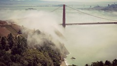 San Francisco (FlavioSarescia) Tags: ocean sanfrancisco california summer usa nature fog landscape goldengatebridge