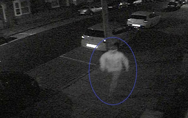 CCTV - Pavlo Lapshyn running away from the murder scene