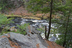 The Bluffs (aka The Palisades) (dlv1) Tags: autumn fall water river nikon rocks newhampshire rapids granite bluffs contoocookriver penacook d5200