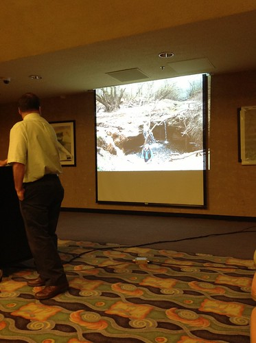 """Sinkhole at Cherry Creek and Withlacoochee with Prof. Thieme • <a style=""""font-size:0.8em;"""" href=""""http://www.flickr.com/photos/85839940@N03/10670809464/"""" target=""""_blank"""">View on Flickr</a>"""