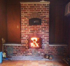 """Masonry Heater with Bake Oven • <a style=""""font-size:0.8em;"""" href=""""http://www.flickr.com/photos/76001284@N06/10808012643/"""" target=""""_blank"""">View on Flickr</a>"""