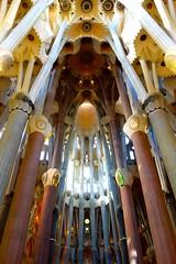 La Sagrada Familia Cathedral (lsmadison) Tags: barcelona church architecture de la spain cathedral sony catalonia famlia gaudi catalunya sagradafamilia sagrada modernisme baslica modernista rx100 dscrx100 dscrx00
