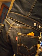 Levis Trader Jacket, 501's (strib10024) Tags: 501s testlevis levis103bstbw levistraderjacket