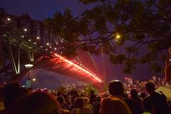 Happy New Year 2014 - SYDNEY HABOUR BRIDGE AT DUSK (Middlemist's Red) Tags: fireworks newyearseve happynewyear unedited vantagepoint 2014 sydneyhabourbridge 2013 dawespoint d5300 d5300test