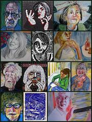 December's Delights @ JKPP (Gila Mosaics n'stuff) Tags: portrait art artist picasa compilation portraitparty jkpp