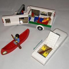 Camper Van Set 60057 - Interior (My Crafty Self) Tags: lego camper toysrus afol legocity pricematch legoset uploaded:by=instagram