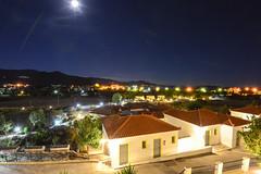 Hotel Panorama (Peter Bromley) Tags: panorama night hotel nikon greece lesvos lesbos d600