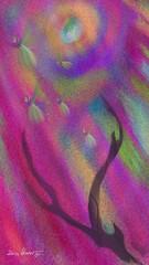 Where the Faeries Dance (donnacoburn1) Tags: new original color art public illustration colorful unique fineart digitalart brushes safe app visualart artworks coburn mobileart creatve digitalartworks donnacoburn