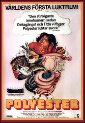Polyester - 1981 - Poster from Sweden (Harald Haefker) Tags: pope lady trash john movie underground star egg divine 1981 waters polyester maker filmmaker sleaze johnwaters filmemacher edithmassey