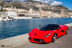 Ferrari LaFerrari (Raphal Belly Photography) Tags: red paris car de french rouge photography eos hotel la photo shoot riviera photographie photoshoot ferrari casino montecarlo monaco mc belly exotic 7d passion lf shooting raphael rosso rb supercar spotting supercars raphal sance f70 2014 rossa principality laferrari