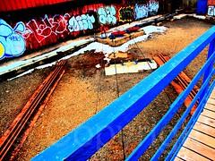 Carroll Street Bridge over the Gowanus Canal, Brooklyn, New York City (jag9889) Tags: nyc newyorkcity bridge usa ny newyork brooklyn river puente crossing unitedstates unitedstatesofamerica bridges landmark dot ponte gowanuscanal infrastructure pont gowanus brcke waterway movable 2014 carrollstreetbridge departmentoftransportation kingscounty nycdot retractile k235 jag9889 y2014