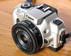 Canon EOS IX7 + EF 40mm 1:2.8 STM (take 2) (uncoolbob) Tags: camera digital lens pancake canoneosix7 canonpowershotsx110is