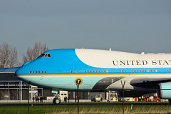 Boeing VC-25A (747-2G4B) 92-9000 US Air Force (USAF) (Jarco Hage) Tags: netherlands amsterdam america airplane us force aviation air united president nederland nuclear security visit summit states boeing spl amerika usaf schiphol obama ams potus 2014 vc25a nss 929000 7472g4b byjarcohage