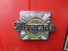 March 26: Silverado Badge (earthdog) Tags: chevrolet car word lumix gm panasonic chevy badge 2014 project365 dmczs19 panasonicdmczs19 3652014
