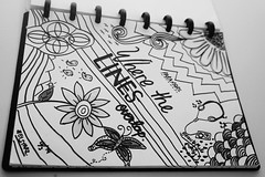 Where The Lines Overlap (Elsya Rizkia) Tags: sketch band blacknwhite paramore