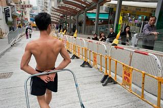 登山扶梯渐渐改变了老香港的面貌