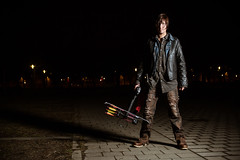 walking dead rick dixon daryl amc zombies crossbow the grimes