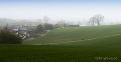 Sharphill Smog (chrispenfold) Tags: nottingham sahara weather fog landscape smog foggy nottinghamshire westbridgford sharphill