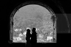 You and I (Elios.k) Tags: camera city travel winter light shadow two people blackandwhite bw woman man southwest tree travelling castle love tourism window smile silhouette horizontal stone forest canon river germany dark outdoors photography togetherness hug couple view side january arc tourists romance together romantic opening heidelberg neckar badenwurttemberg odenwald badenwürttemberg 5dmkii