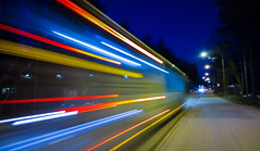 street city windows light urban bus mobile night zeiss... (Photo: Antti Tassberg on Flickr)
