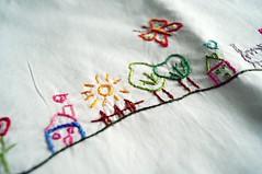 Jogo para bero (Slua S.) Tags: embroidery artesanato infantil beb manual trabalho bero bordado lenol fronha virol enxoval algoo