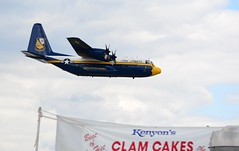 Fat Albert`s C-130 Hercules (Luis Oquendo) Tags: airshow rhodeisland blueangels c130 airplanespotter 2014ri