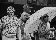 Body Paint (slightheadache) Tags: nyc newyorkcity carnival sea party summer brooklyn fun parade celebration pirate mermaid coney mermaidparade seafaring 2015 mermaidparade2015