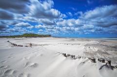 No. 1004 Uggerby beach (H-L-Andersen) Tags: longexposure blue sea sky beach clouds sand el le lee cloudscapes manfrotto 6d landoflight ef24105mmf4 leefilters faskine canoneos6d hlandersen leebigstopper uggerbystrand