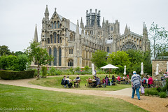 An English Summer's Day - Explored! (David S Wilson) Tags: uk england church worship ely fens elycathedral 2015 shipofthefens davidswilson thealmonry lumixdmcgm5 mzuiko17mm118 adobelightroom6