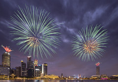 NDP 2015 Fireworks from Marina Bay Sands (gkw12345) Tags: show 3 marina fire bay education singapore day fireworks rehearsal 15 parade national works ndp sands 50 sg combined 2015 cr3 sg50 ndp15