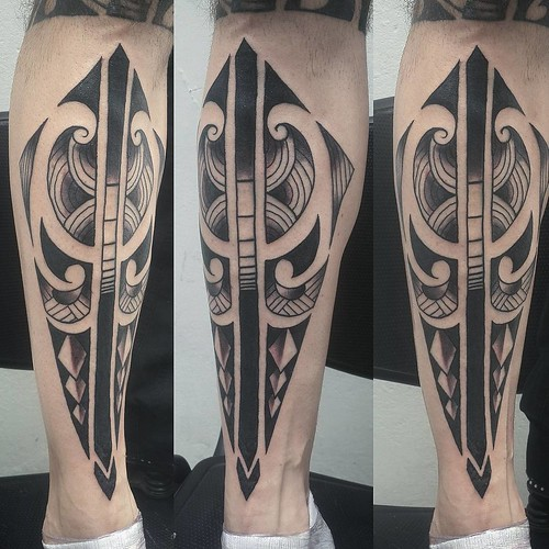 Tattoo Maori Un Buen Punto Jajaja Tatuaje Tattoolife Tattoos