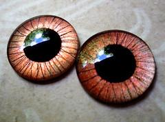 Handpainted custom Blythe eyechips