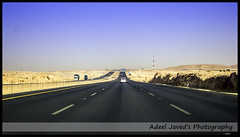 Riyadh to Medina Highway, Saudi Arabia (Adeel Javed's Photography) Tags: highway saudi arabia medina riyadh javed adeel