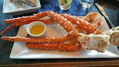 Alaskan King Crab legs for dinner!