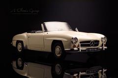 1954 Mercedes Benz 190 SL (aJ Leong) Tags: mercedes benz 1954 sl 190 118 autoart
