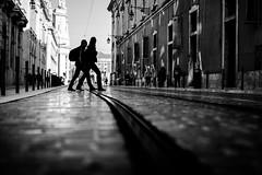 La dolce vita 5/8 (tomabenz) Tags: sony a7 a7rm2 urban dolce vita street photography lisbonne lisbon bw streetview black white noiretblanc monochrome contrast blackandwhite dolcevita sonya7rm2 sonya7 streetphotography