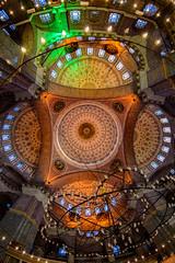 Yeni Cami - Eminonu (Aleem Yousaf) Tags: yeni cami new mosque sultan minarets d800 16mm fisheye istanbul turkey photot walk indoor architecture caligraphy ottoman imperial eminonu
