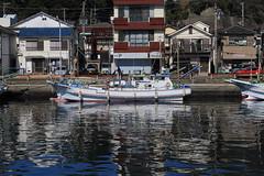 Fishing Boat (seiji2012) Tags: 漁船 三崎港 三浦半島 反射 fishingboat miura port kanagawa sea canonflickraward