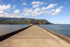 Hanalei Pier (john.lankau) Tags: kauai hanaleibay