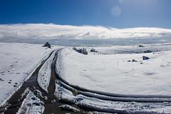 Manjača (Damir Dj) Tags: manjaca planina mountain balkan bosna republika srpska put road sky winter snow clouds oblaci snijeg