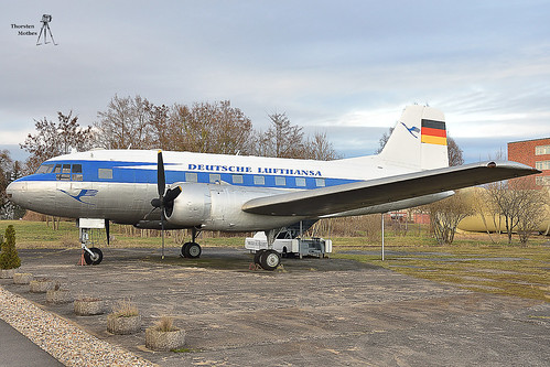Iljuschin IL-14 DM-SAF, Bj. 1957 in Dresden