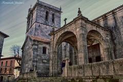 La Alberca (alanchanflor) Tags: iglesia piedra medieval laalberca salamanca españa romanico arco canon church hdr stone