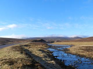 Black Water River, Highlands of Scotland, Feb 2017