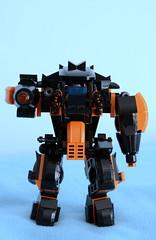 Assault Mech - Beast Mk. I - front (Wafna-204) Tags: afol moc wafna mech mecha hardsuit robot lego legophotography
